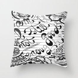 Am I Still Not Good Enough? Throw Pillow
