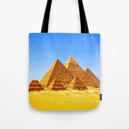 The Pyramids At Giza Tote Bag