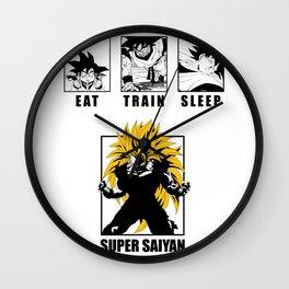 Super Saiyan Secret Wall Clock