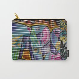 Graffiti Lines Carry-All Pouch