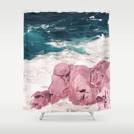 Kiss of the Sea I Shower Curtain