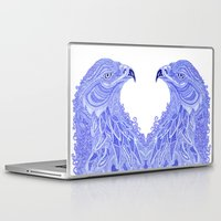 eagle Laptop & iPad Skins featuring Eagle by Olya Goloveshkina