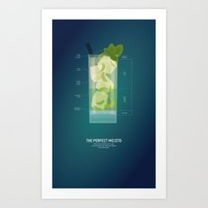The Perfect Mojito Art Print