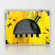 Death Star Bug – Yellow background Laptop & iPad Skin