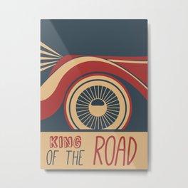 King of the Road Metal Print