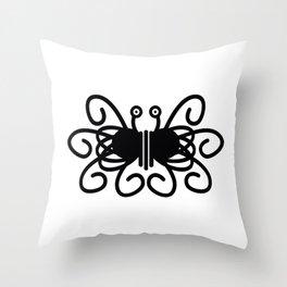 Pastafarian Flying Spaghetti Monster Throw Pillow