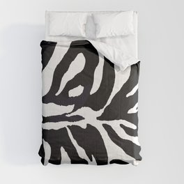 Zebra print Comforters