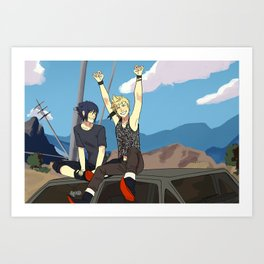 Episode Duscae Art Print