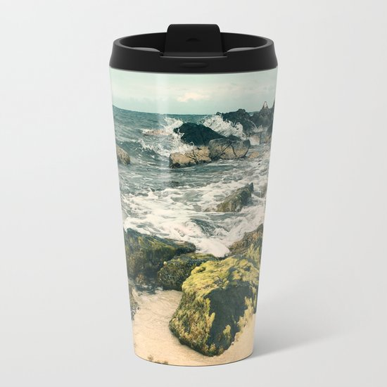Last Day At The Beach 2016 Metal Travel Mug