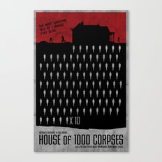 House of 1000 Corpses  Canvas Print