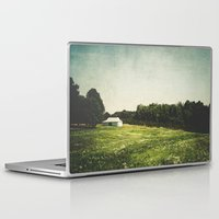western Laptop & iPad Skins featuring Western Carolina by mkmscott