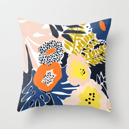 More design for a happy life - high Throw Pillow