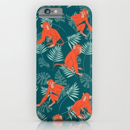 Monkey Forest iPhone Case