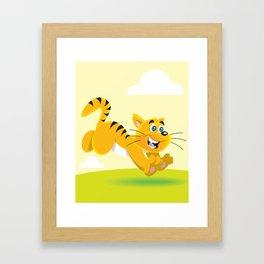 Jumping for Joy Framed Art Print