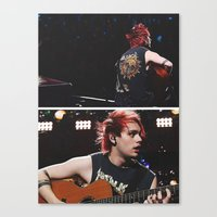 5 seconds of summer Canvas Prints featuring 5 Seconds of Summer - Michael by Fan_Girl_Designs