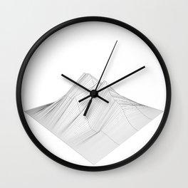 rough Wall Clock