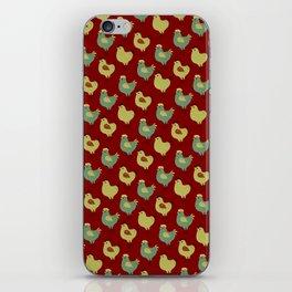 Chicken Case (red) iPhone Skin