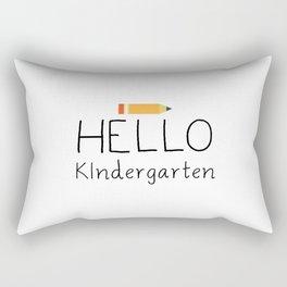 Hello Kindergarten Rectangular Pillow