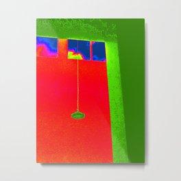 Beyond The Green Horizon Metal Print
