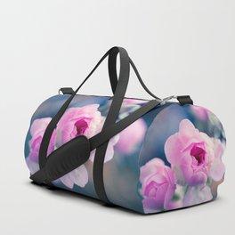 Pinkie Rose Buds Duffle Bag