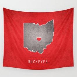 Ohio State Buckeyes Wall Tapestry