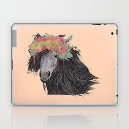 Shetland Pony (Pastel Orange Edition) Laptop & iPad Skin