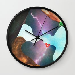 Electric Love Wall Clock