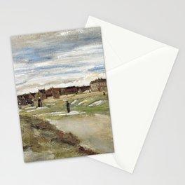 Vincent Van Gogh Bleaching Ground At Scheveningen Stationery Cards