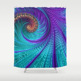 Floreo Shower Curtain