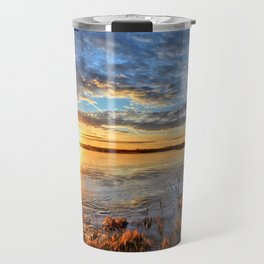 Winds On Big Marsh Travel Mug