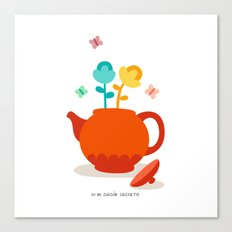 Teapot Canvas Print