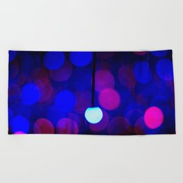 Orbs Beach Towel