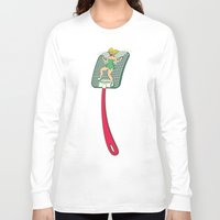 tinker bell Long Sleeve T-shirts featuring Tinker Clash by Pixel Hero