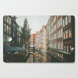 Amsterdam Canals Cutting Board