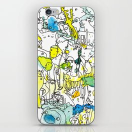 Character Cohesion iPhone Skin