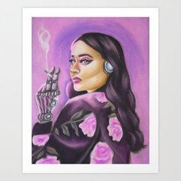 A future in me Art Print