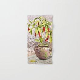 Thai Peppers Hand & Bath Towel