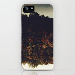 Flipping Autumn iPhone Case