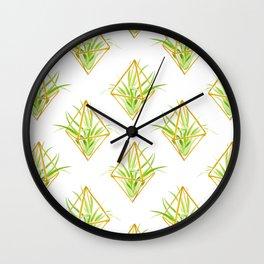 Tillandsia Wall Clock