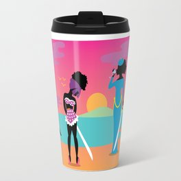 Samurai Sisters Travel Mug
