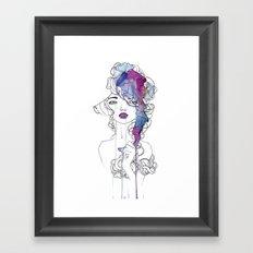 Girl #3 Framed Art Print