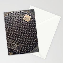 Manhole Cover Stationery Cards