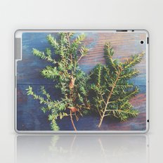 Hemlock on Blue Table Laptop & iPad Skin