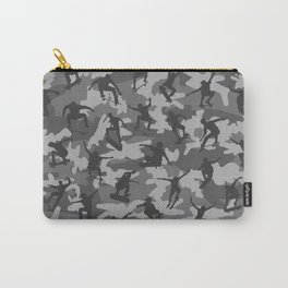 Skater Camo B&W Carry-All Pouch