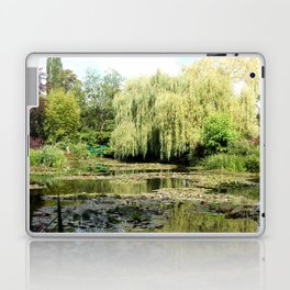 Willow Tree in Monet's Garden  Laptop & iPad Skin
