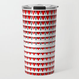embers geometric pattern Travel Mug