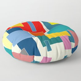Van Doesburg No. 2 Floor Pillow