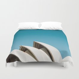 Sydney Opera House | Australia Minimalist Travel Photography Duvet Cover