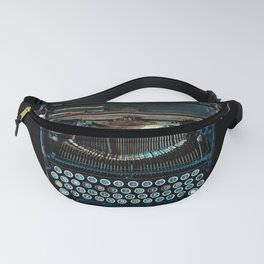 old vintage typewriter Fanny Pack