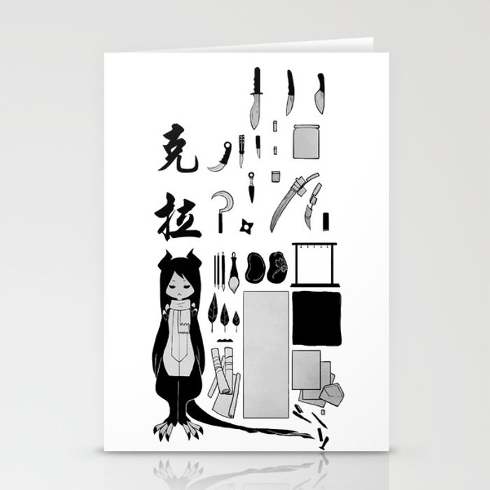 Krrah's Tools Stationery Cards